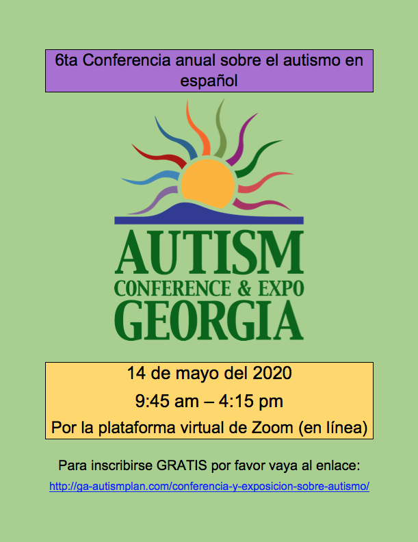 Autism Conference and Expo of Georgia 2020 - Espanol